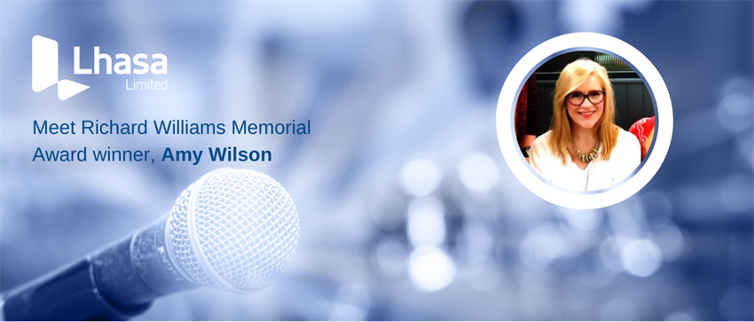 Lhasa Limited is pleased to introduce the winner of the Richard Williams Memorial Award